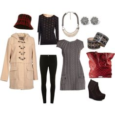 """""""Winter tunic/leggings"""" by hopingtoadopt on Polyvore"""