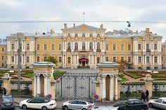 Palace of Chancellor Vorontsov on Sadovaya Ulitsa in St Petersburg, Palace
