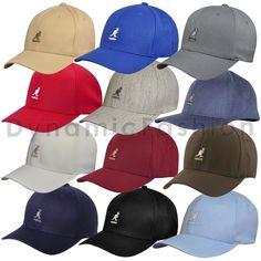 Hats 52365  100% Authentic Kangol Wool Blend Flexfit Baseball Cap Hat  8650Bc S M L Xl c8ea65af496d