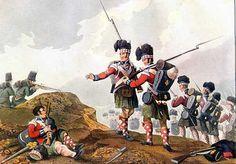 THE ROYAL SCOTS (The Royal Regiment of Scotland) HIGHLANDERS EN LA BATALLA DE VIMEIRO - 1808. Más en www.elgrancapitan.org/foro