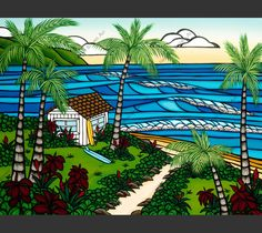 Hawai'i Hale by Heather Brown. Love it!