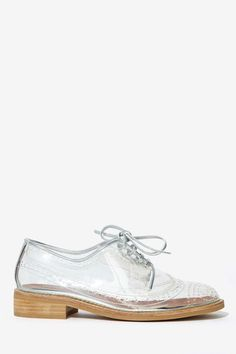Jeffrey Campbell Townsend Transparent Oxford