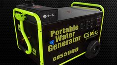 Portable Generator Runs on Water!!