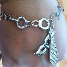Fifty Shades of Grey Trilogy bracelet by TeTeTrinkets on Etsy, $8.00