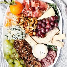 """16k Likes, 82 Comments - Food & Wine (@foodandwine) on Instagram: """"If there isn't a cheese board, is it even a holiday party? Show us what you're eating this weekend…"""""""