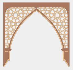 islamic arch | Flickr - Photo Sharing! Arabesque, Morrocan House, Motifs Islamiques, Presentation Board Design, Riad Marrakech, Islamic Art Pattern, Arabic Pattern, Islamic Decor, Bedroom False Ceiling Design
