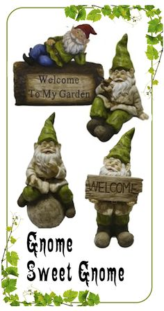 Gardening Gifts for Gnomies http://chezchazz.hubpages.com/hub/best-gifts-for-gardeners-of-all-ages