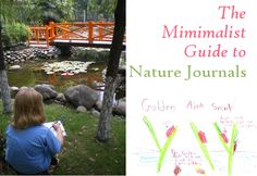 minimalist guide to nature journals