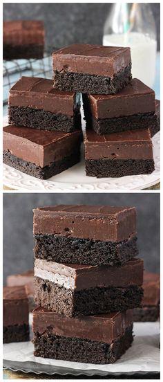 Nutella Fudge Brownies Recipe