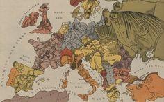 first world war, WW- map