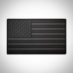 "All new murdered out 3x5"" American Flag PVC Patches have just been launched on our site! Order tonight before Cyber Monday ends! by refactortactical"