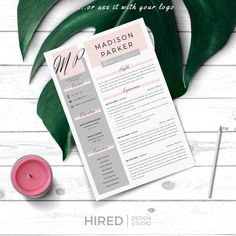 Creative & modern Resume / CV Template for Word AND Pages. Resume design MADISON Professional Resume / CV + Cover Letter + References + free tips Cover Letter Format, Cover Letter Tips, Cover Letter Design, Cover Letter For Resume, Cover Letter Template, Letter Designs, Cover Letters, Resume Layout, Resume Cv