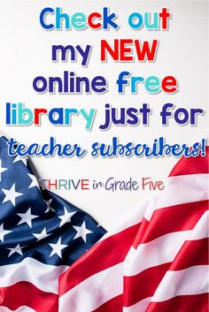 I have a free download library full of 5th grade social studies resources. Visit this page to sign up for my VIP teacher email club and you'll get the password sent to you right away!
