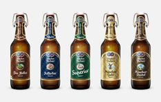 H A C K E R - P S C H O R R Heaven in Bavaria. Since our extensive redesign, the traditional Bavarian brand Hacker-Pschorr features a new look - with revised labels and packages, more sky and more Bavaria. Brand Identity, Branding, Craft Beer Labels, Beer Label Design, Neon Design, Beer Brands, Packaging Design Inspiration, Brand Packaging, Home Brewing