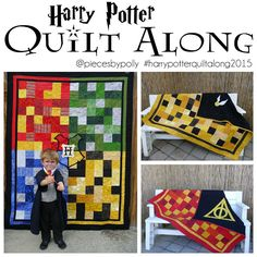 Pieces by Polly: Harry Potter Quilt-Along at Pieces by Polly