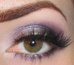 Love purple on the eyes