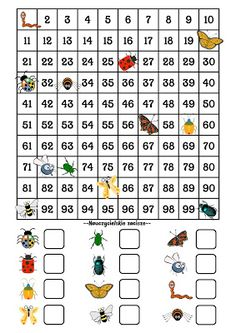 Teachers' privacy: How to use a table with numbers up to - ideas, . Kindergarten Math Activities, Kindergarten Math Worksheets, Preschool Math, Teaching Math, Coding For Kids, Math For Kids, Fun Math, Numbers Preschool, 2nd Grade Math
