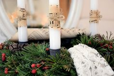 Mein ADVENTSKRANZ - traditionell und schlicht Candles, Ideas For Christmas, Traditional, Seasons Of The Year, Dekoration, Candy, Candle Sticks, Candle