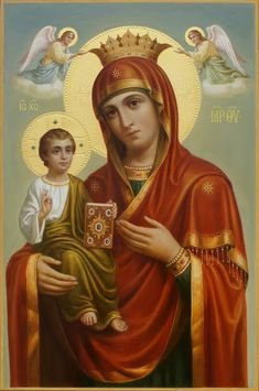 Virgin Mary Art, Blessed Virgin Mary, Jesus Christ Images, Jesus Art, Religious Images, Religious Art, Monastery Icons, Jesus Son Of God, Hail Holy Queen