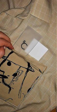 becreativespace / Košeľa z dvojitým vreckom - ECO Anorexia, Nasa, Fit