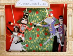 The Nutcracker Paper Doll Puppet Theater by Sarah Jane {for purchase}