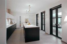 Cute Kitchen, Kitchen Redo, Kitchen Art, Rustic Kitchen, Kitchen Design, Kitchen Ideas, 1930s Kitchen Extension, Steel Doors And Windows, Kitchen Images