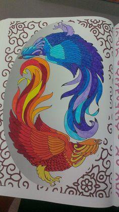 Mandala combat de coq partie 1 by Charlie-Audern