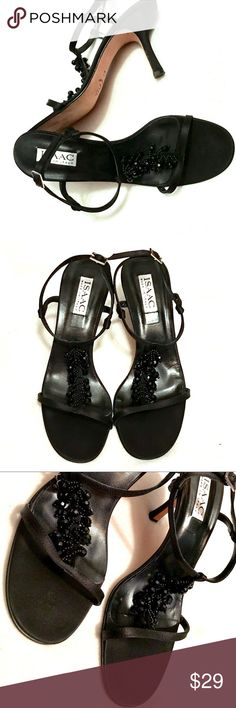 ISAAC Stunning Sandals Sz 8.5B Minor signs of wear on soles. Please see photos.. ISAAC Shoes Sandals
