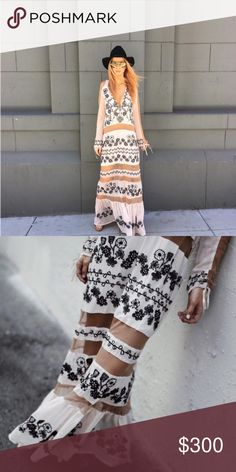 Brand new for love and lemons maxi dress Nwt For Love and Lemons Dresses Maxi