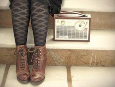 Mid Century Transistor Radio Vintage Portable by stephmelart,