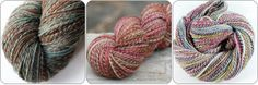"Ravelry - a knit and crochet community-featuring handspun ""Barber poles"""