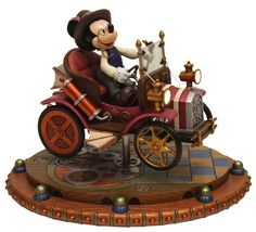 Steampunk Tendencies | Mickey's Steam-Powered Main Street Car by Alex Maher