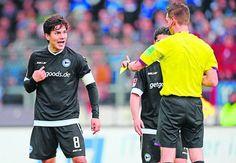 Zeitung WESTFALEN-BLATT: Arminia Bielefeld - Wer behält die Nerven?