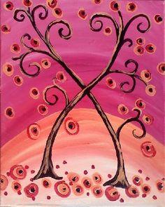 Funky heart tree