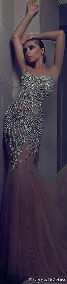 Charbel Karam Fall-winter 2014-2015 Couture
