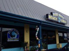 Blue Moon Beach Grill in Nags Head, North Carolina; road trip anyone?