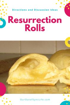Explain Easter is a way that children can understand - with Resurrection Rolls. Super fun, easy to do, and yummy! Why We Celebrate Easter, Resurrection Rolls, Jesus Is Risen, Easter Activities, Morning Breakfast, Crescent Rolls, Rolls Recipe, Easter Crafts, Children
