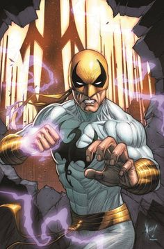 Iron Fist.  Loved this comic back in the wacky 70s when everyone was Kung-Fu fighting.