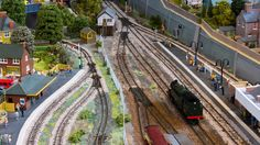 Three free track plans websites for inspiration! #modelrailway