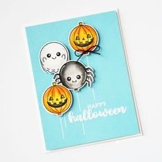Clearance Sale: was now Mini clear stamp set comprising 9 separate stamps. Halloween Cards, Clearance Sale, Clear Stamps, Christmas Fun, Balloons, Mini, Birthday, Happy, Inspiration