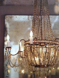 bohemian home antique chandelier