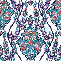 Ceramic tile - Style 004 - Treasures Of Istanbul