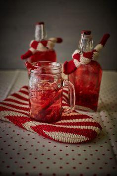 Nalož to sváteční punč do skleniček s ouškem