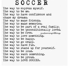 Soccer is my life Soccer Quotes Soccer Quotes sportswomen Soccer Drills For Kids, Soccer Pro, Soccer Practice, Soccer Skills, Soccer Tips, Soccer Games, Play Soccer, Soccer Players, Life Soccer