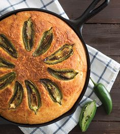 Our Jalapeño and Goat Cheese Cornbread is a deliciously spicy and cheesy twist the classic.