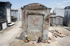 St. Louis Cemetery: New Orleans makes the top of the list. With creepy cemeteries dotting the landscape, it's hard to find one that would be the most haunted. But this one certainly tops the list. The St. Louis is the oldest one on the city, with crumbling memorials and a morbid feel to the air. Visitors claim to see ghosts of the dead walking the narrow pathways, but none is more famed than Marie Laveau, the Voodoo Queen of New Orleans.