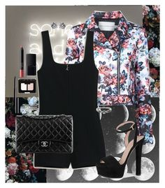 """""""Don't You Worry"""" by kittypom ❤ liked on Polyvore featuring Mary Katrantzou, Gucci, Chanel, Tiffany & Co., ADORNIA and NARS Cosmetics"""