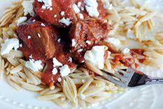 ... Organic Whole Wheat Orzo from MediterraneanBaby... #recipe #pasta