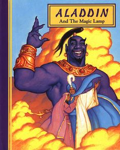 Aladdin and the Magic Lamp, Greg Hildebrandt