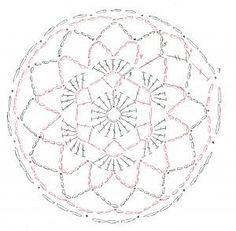 Crochet Motif Free Crochet Snood Pattern - Complete Step-By-Step Instructions Mandala Au Crochet, Crochet Circles, Crochet Motifs, Crochet Diagram, Crochet Chart, Thread Crochet, Filet Crochet, Crochet Doilies, Crochet Snood